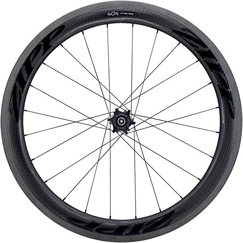 Zipp 404 Firecrest Carbon Clincher Road Wheel Black, Rear, SRAM/Shimano