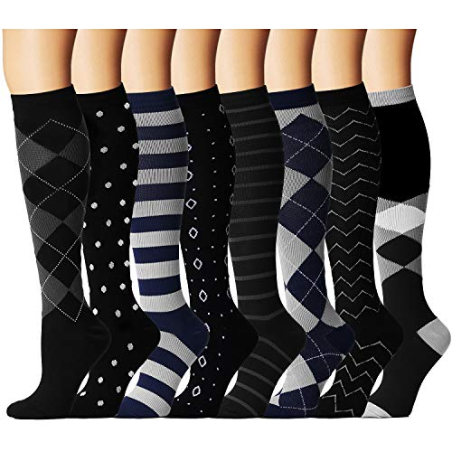 Compression Socks for Women and Men - Best Medical,for Running, Athletic, Varicose Veins, Travel