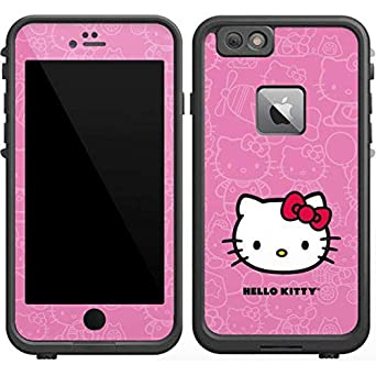official photos 16ec6 6e3e3 Amazon.com: Skinit Hello Kitty Face Pink LifeProof Fre iPhone 6/6s ...