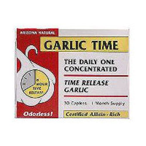 Arizona Natural Resource Garlic Time, 180 Count ()