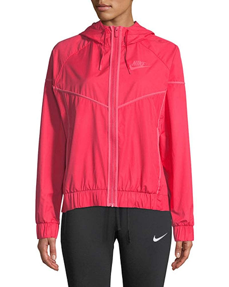 Tropical Pink Nike Womens Windrunner Track Jacket