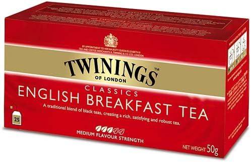 Twinings - Tè Negro - English Breakfast (25 Bolsas): Amazon.es: Alimentación y bebidas