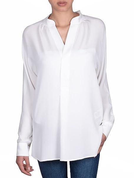 Ralph Lauren - Camisas - para Mujer Blanco Weiß: Amazon.es ...