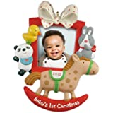 Hallmark 2012 Keepsake Ornaments QXG4604 Baby's First Christmas Photo Frame