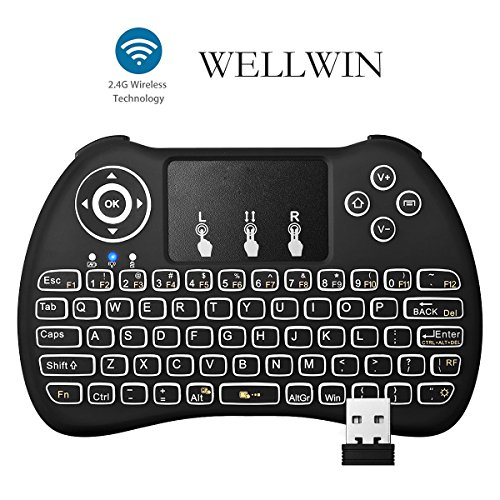Backlight Wireless Keyboard Touchpad Rechargeable product image