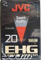 JVC VHS-C EHG 20 Library Master Compact Video Cassette TC-20 EHG