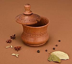 Salt Pot, Salt Pot with a Lid, Jar for Spices and Seasonings