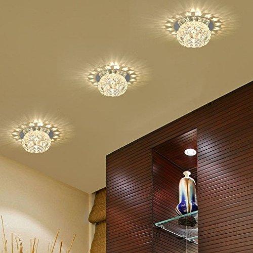 Nueva Gorgeous Modern Crystal Lampara Colgante Exposición ...