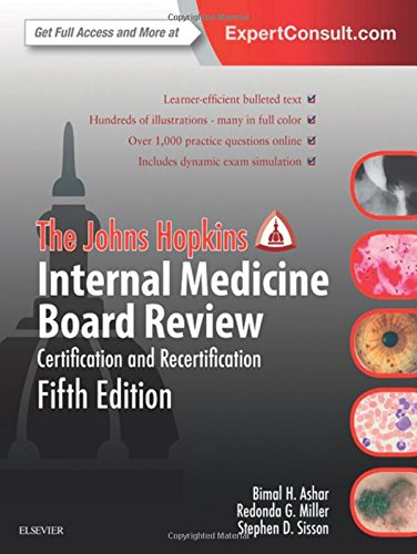 The Johns Hopkins Internal Medicine Board Review: Certification and Recertification, 5e