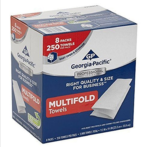 Georgia-Pacific 2212014 convenience,Thick, absorbent, strong Multifold Paper Towels ,Case of 8 Packs (Meat By Lafrieda compare prices)