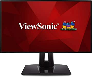 ViewSonic VP2458 Professional 24 inch 1080p Monitor with 100% sRGB Delta E<2 Color Accuracy for Home and Office