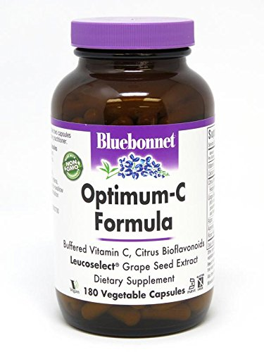 Bluebonnet Optimum C Formula Vegetable Capsules, 180 Count