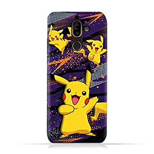 Nokia 7 Plus TPU Soft Protective Case with Pokemon Pikachu Design