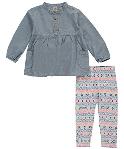 Carter's Baby Girls' 2 Piece Playwear Sets,