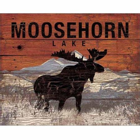 moosehorn-lake-mountain-distressed-wood-grain-lodge-painting-orange-grey-canvas-art-by-pied-piper-cr