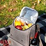 HappyPicnic Insulated Picnic Backpack with Roomy