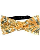Orange - Taupe Tommy Bahama Self Tie Bow Tie