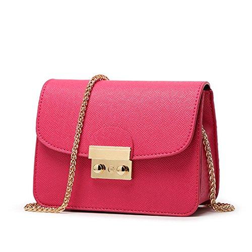 Eysee - Cartera de mano para mujer Rosa negro 31cm*22cm*11cm rosa (b)