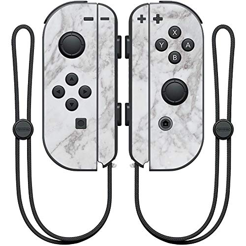 MightySkins Skin Compatible with Nintendo Joy-Con Controller - Frost Marble | Protective, Durable, and Unique Vinyl Decal wrap Cover | Easy to Apply, Remove, and Change Styles | Made in The USA