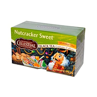 Celestial Seasonings Nutcracker Sweet Black Tea, 20 Bags