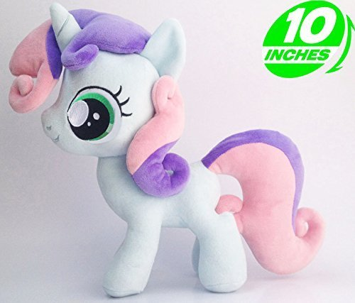 Amazon.es: MON PETIT PONEY-PELUCHE MY LITTLE PONY-SWEETIE BELLE 25 cm: Juguetes y juegos
