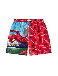 licensed Boy Spiderman Swim Shorts Trunks Ages 3-10