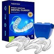 NEOMEN Health Professional Dental Guard – Pack of 4 – New Upgraded Anti Grinding Dental Night Guard Stops Bruxism Tmj…