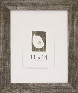 product image for Frame USA Farmhouse Series 11x14 Barnwood Picture Frames (Charcoal)
