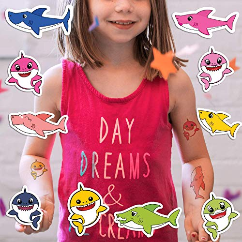 Baby Sharks Collection | Temporary Tattoos | Kid Safe | 20 Total ()