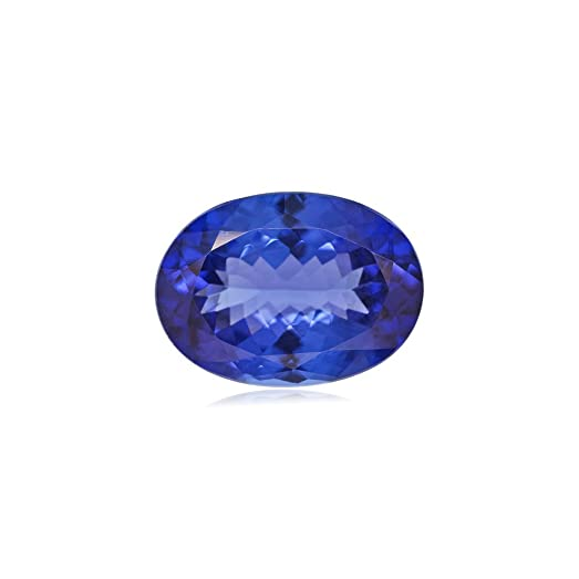 gemstones violet sku tanzanite carat gemstone oval shape