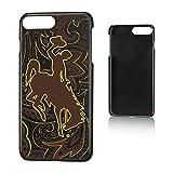 Keyscaper NCAA Wyoming Cowboys UW Paisley Slim Case, iPhone 8 Plus/7 Plus/6 Plus, Black