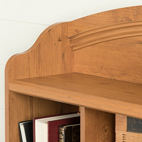 home, kitchen, furniture, bedroom furniture, beds, frames, bases, headboards, footboards,  headboards 3 image South Shore Prairie Bookcase Headboard with Storage, Twin promotion