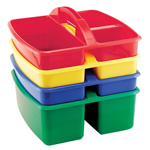 Early Childhood Resources 3 Compartment Small Caddy - Assorted