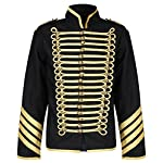 Ro Rox Gold Hussar Parade Steampunk Gothic Jacket 6