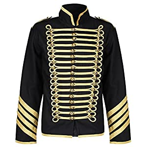 Ro Rox Gold Hussar Parade Steampunk Gothic Jacket
