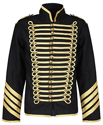 Ro Rox Gold Hussar Parade Steampunk Gothic Jacket 3