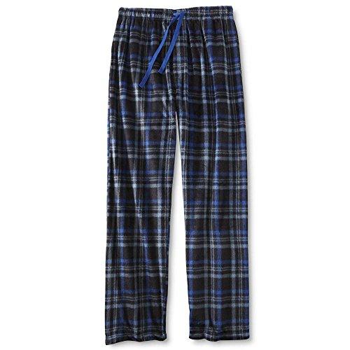 Joe Boxer Mens Microfleece Holiday Sleep Pant (L, Blue)