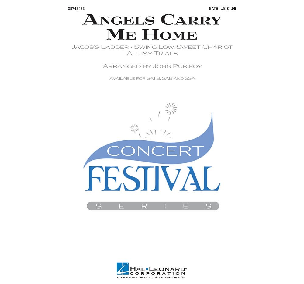Hal Leonard Angels Carry Me Home (Medley) SSA Arranged by John Purifoy ebook