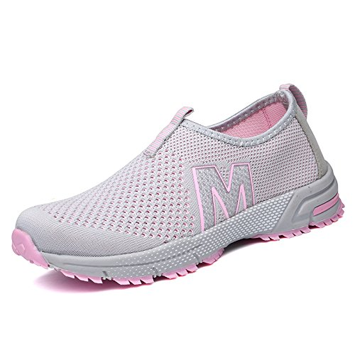 A1 Verano Respirables Las de Zapatos los del Light Mamá gray los los Casuales de Netos del Zapatos Calza los Hasag Zapatos de Femeninos Femeninos Deportes Paño Mujeres EqFxY1