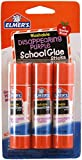 Best Elmers Fabric Glues - Elmer's School Glue Sticks, Washable, Disappearing Purple, Pack Review