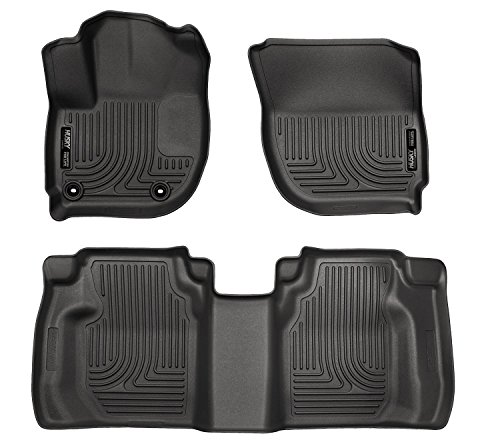 Husky Liners Front & 2nd Seat Floor Liners (Footwell Coverage) Fits 15-16 Fit