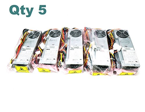 5 LOT Brand New 3N200 Genuine Dell Optiplex GX150 GX240 GX260 GX270 GX250 Dimension 4500C 4600C SFF 160W PFC Power Supply Unit PS-5161-1D1 Power Factor Correction PSU + Harness P2171 3Y147 P0813