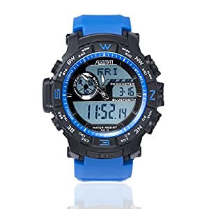 Sports Watch with APP Control on iOS and Android Mobile Phone Hybrid Pedometer Smart Watch Outdoors Digital Watch with Zero Time Deviation Water ...