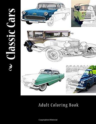 Download Classic Cars: Adult Coloring Book pdf epub