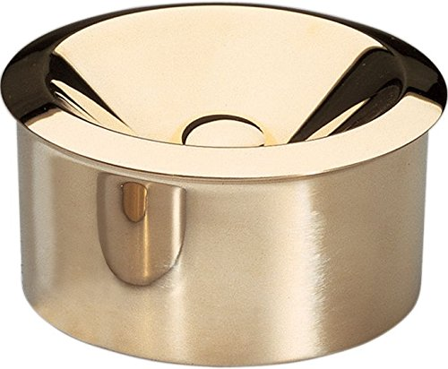 Bauhaus Archive Ash Tray Finish: Brass by Alessi (Image #1)