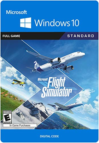 Microsoft Flight Simulator Customary – PC [Online Game Code]