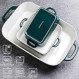 SWEEJAR Ceramic Bakeware Set, Rectangular Baking