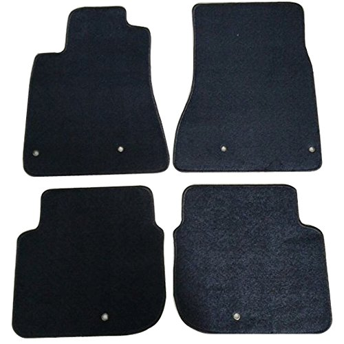 (Floor Mats Fits 1998-2005 Lexus GS300 GS400 GS430 | Factory Fitment Car Floor Mat Front & Rear Nylon by IKON MOTORSPORTS | 1999 2000 2001 2002 2003 2004)