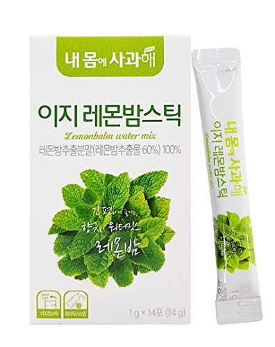 [Dr. MOON] Easy Lemon Balm Water Mix (1g x 14 packets) – 100% Lemon Balm Extract Powder from Spain, High Antioxidant, Natural Metabolism Booster