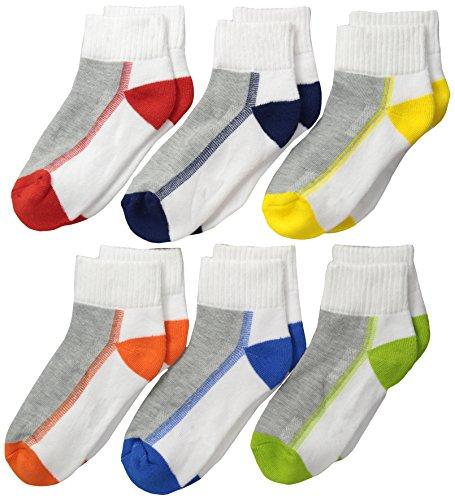 Jefferies Socks Big Boys' Boy Performance Tech Quarter  , Mu
